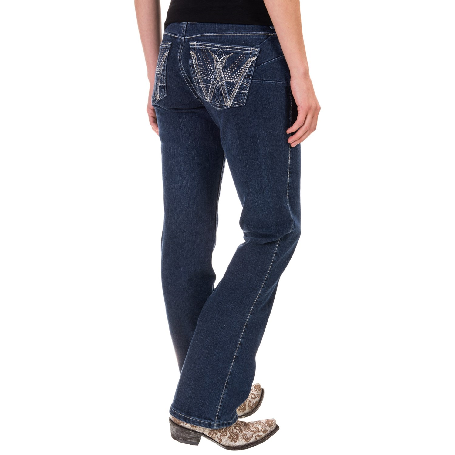 Wrangler Q Baby Booty Up Jeans For Women Save