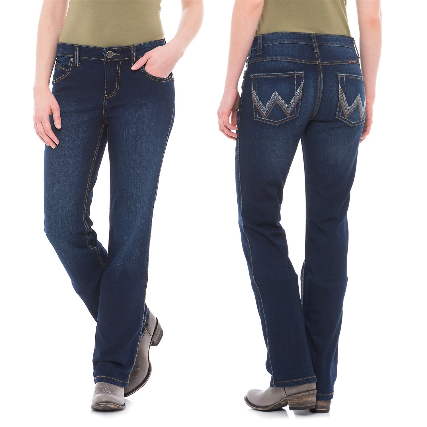 Wrangler Q Baby Jeans For Women Save