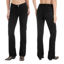 Wrangler Q-Baby Ultimate Riding Jeans - Cowgirl Cut (For Women) in Black Magic - 2nds