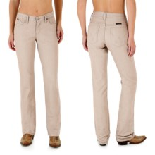 Wrangler Q-Baby Ultimate Riding Jeans - Cowgirl Cut (For Women) in Khaki - 2nds