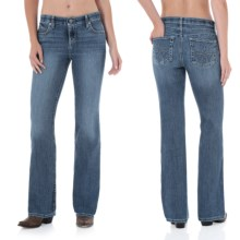 Wrangler Q-Baby Ultimate Riding Jeans - Cowgirl Cut (For Women) in Night Rider - 2nds