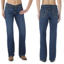 Wrangler Q-Baby Ultimate Riding Jeans - Cowgirl Cut (For Women) in Pretty Lady - 2nds