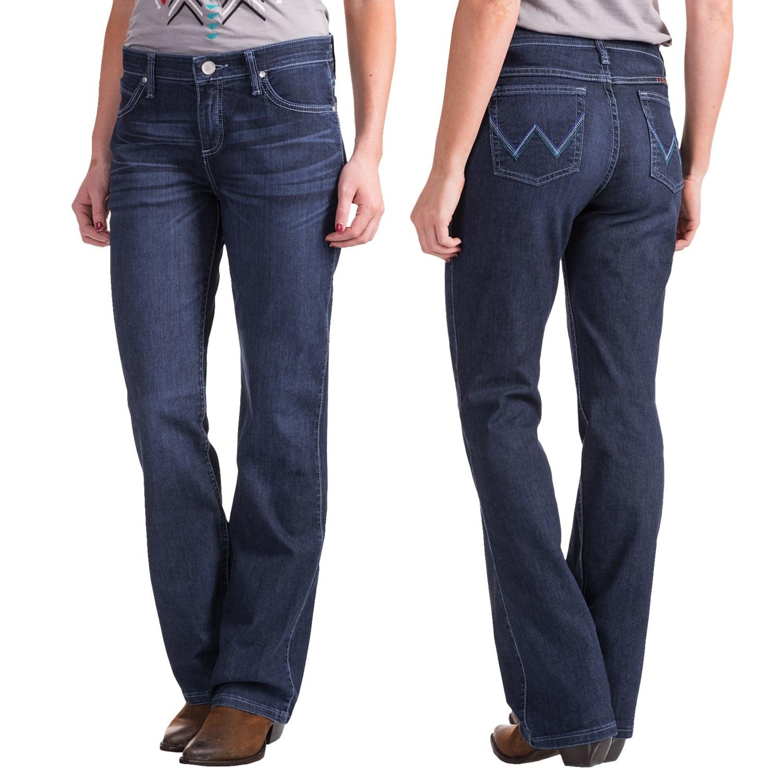 5d24a3677de35 Wrangler Q-Baby Ultimate Riding Jeans (For Women) - Save 48%