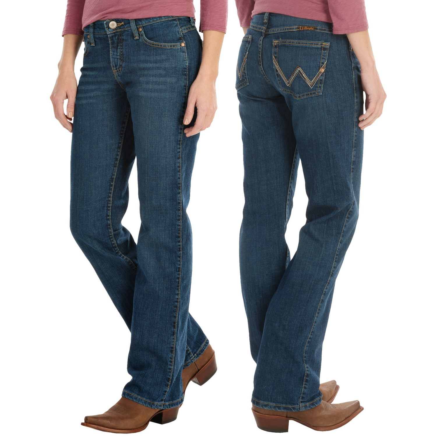 0a98ad80 Wrangler Q-Baby Ultimate Riding Jeans - Sits Below the Waist, Bootcut (For  Women)