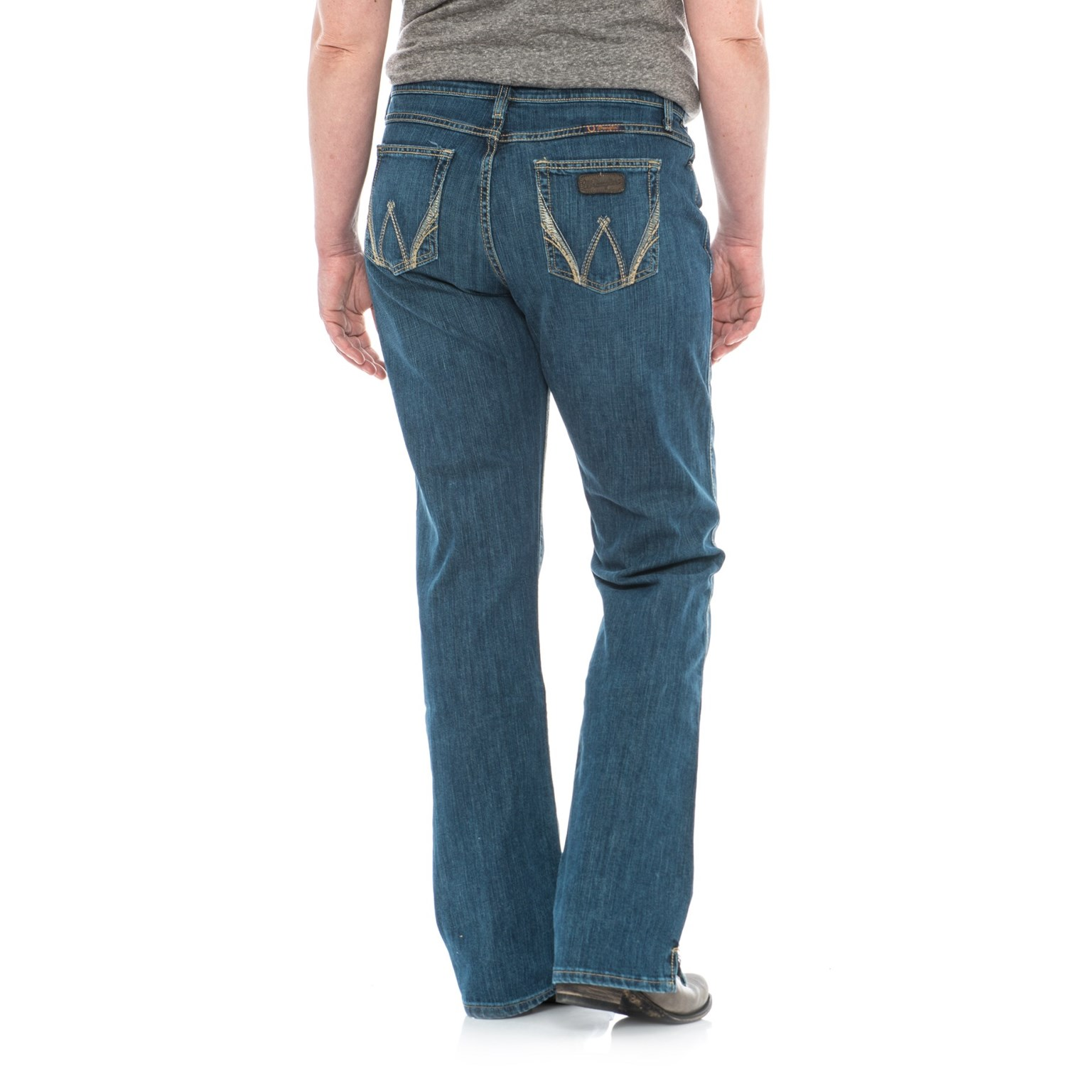 f9f886a5 Wrangler Q-Baby Ultimate Riding Jeans - Sits Below the Waist, Bootcut (For  Women)