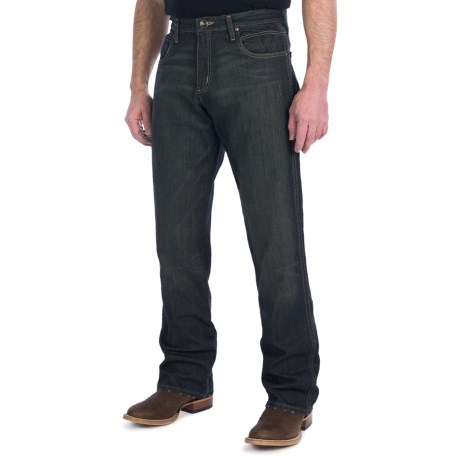 Wrangler Retro IRS Jeans - Relaxed Fit, Bootcut (For Men) in Worn Black