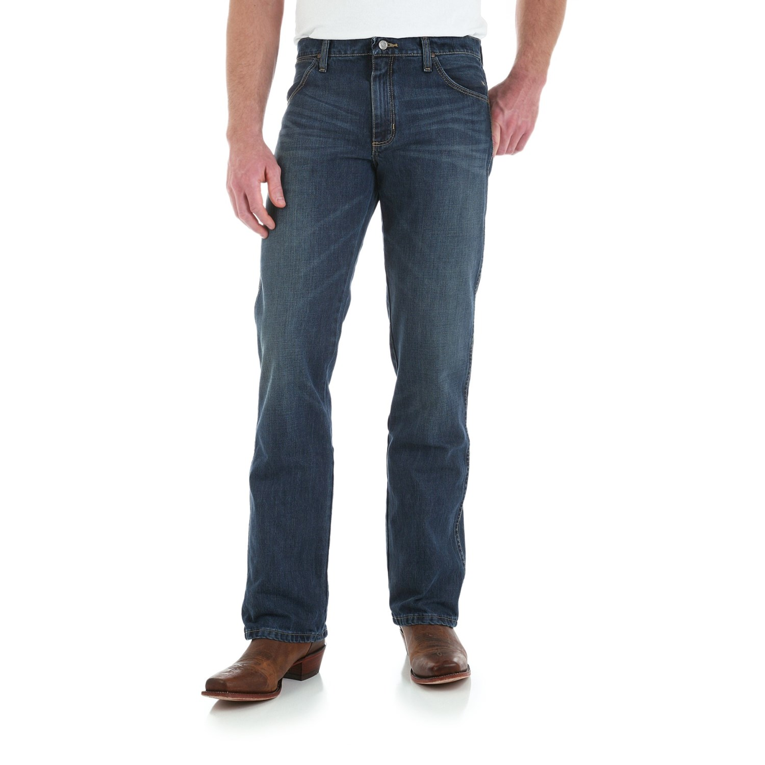 Wrangler Retro Jeans - Slim Fit Bootcut (For Men) - Save 42%