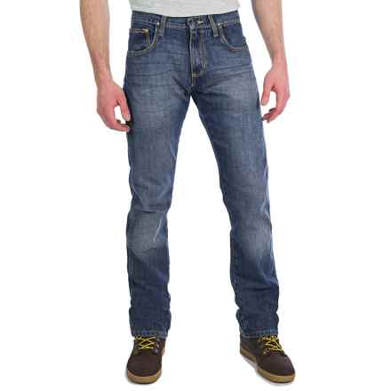 Wrangler Retro Jeans - Slim Fit, Straight Leg (For Men) in Antique Blue - 2nds