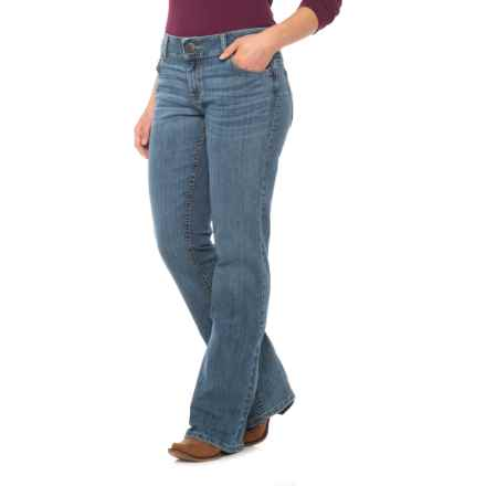 Wrangler Retro Mae Booty Up Jeans - Mid-Rise, Bootcut (For Women) in Rs Wash - Closeouts
