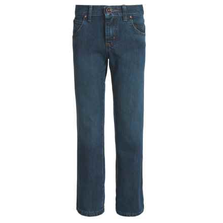 Wrangler Retro Straight Jeans - Straight Leg (For Big Boys) in Everyday Blue - 2nds