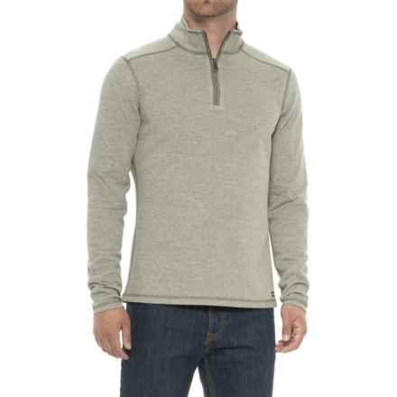 Wrangler Reversible Pullover - Zip Neck in Green Heather - Overstock