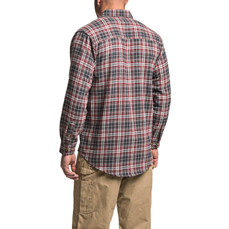 Wrangler Riggs Workwear Flannel Work Shirt For Men
