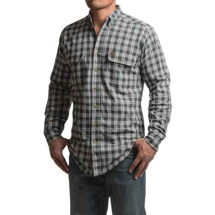 Wrangler RIGGS Workwear  Plaid Shirt - Long Sleeve (For Men) in Charcoal - Closeouts