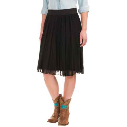 Wrangler Rock 47 Ballerina Skirt - Knee Length (For Women) in Black - Closeouts