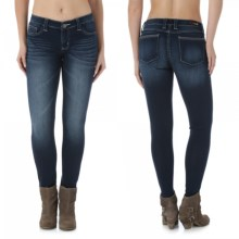 Wrangler Rock 47 Jeans - Low Rise, Skinny Leg (For Women) in Lighthouse - 2nds
