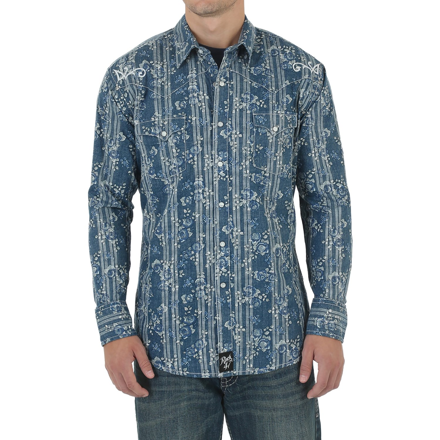 Pearl Snap Shirts For Men