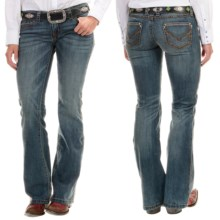 Wrangler Rock 47 Ultra Low Rise Jeans (For Women) in Jt Wash - 2nds