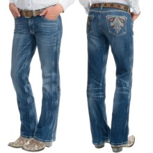 Wrangler Rock 47 Ultra Low Rise Jeans (For Women) in Nevada Sun - 2nds