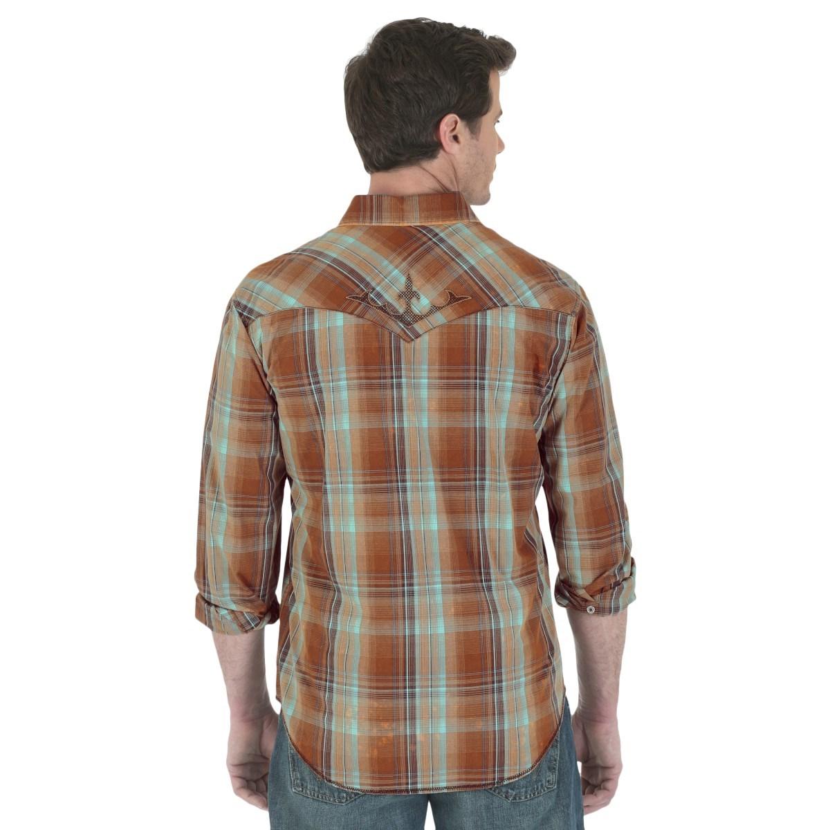 Wrangler Rock 47 >> Wrangler Rock 47 Western Shirt (For Men) - Save 79%