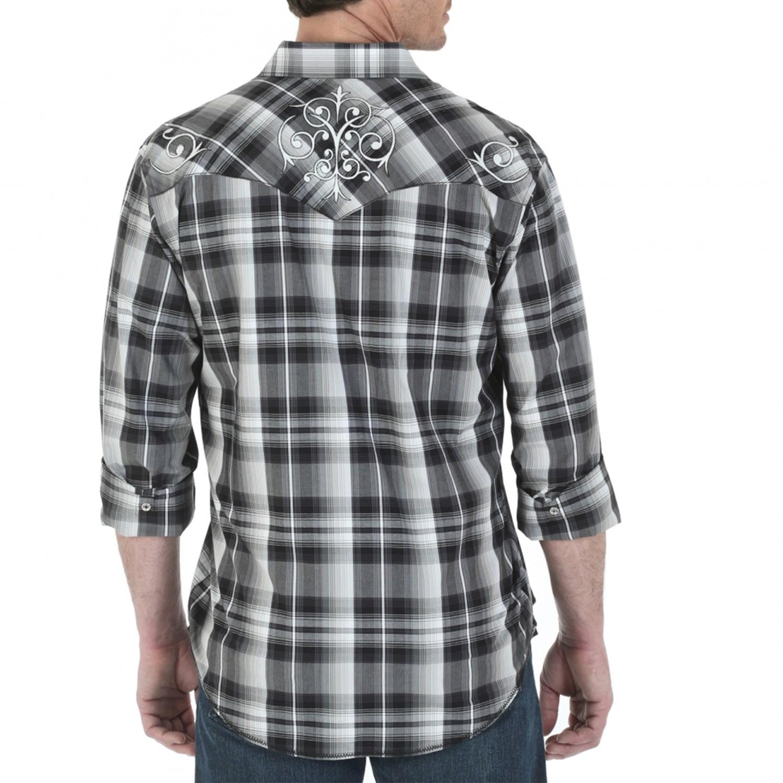 Wrangler Rock 47 >> Wrangler Rock 47 Western Shirt (For Men) 119AK - Save 79%