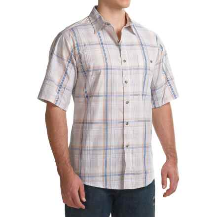 Wrangler Rugged Wear Moisture-Wicking Shirt - Short Sleeve (For Men) in White - Closeouts