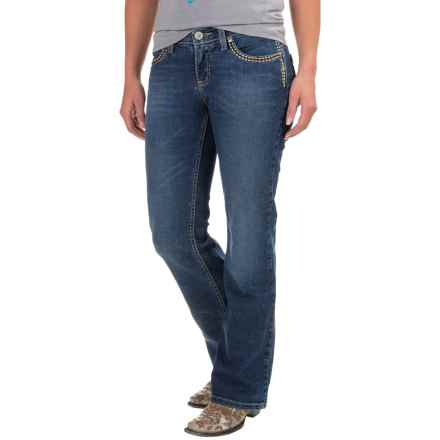 Wrangler Shiloh Ultimate Riding Jeans (For Women) in Jm Wash - 2nds
