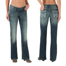 Wrangler Shiloh Ultimate Riding Jeans (For Women) in Night Glow - 2nds
