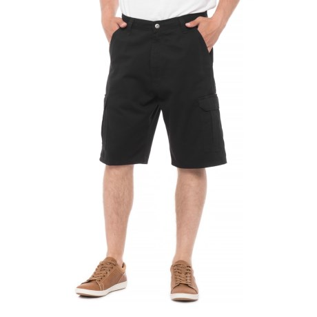 Wrangler Twill Denim Shorts (For Men) in Black