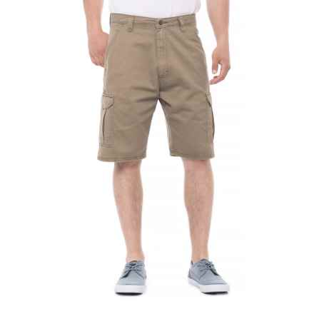 Wrangler Twill Denim Shorts (For Men) in Brown Heather - 2nds