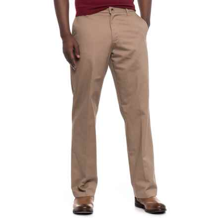 Wrangler Ultimate No-Iron Pants (For Men) in Khaki - Closeouts