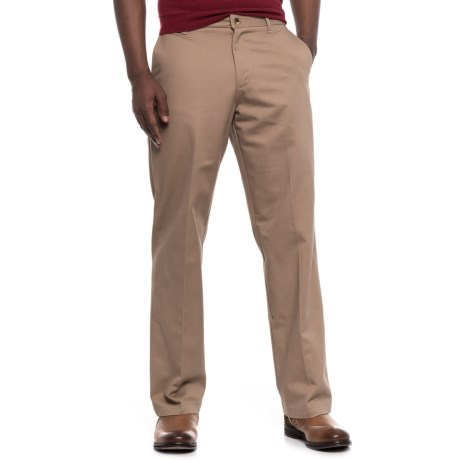 Wrangler Ultimate No-Iron Pants (For Men) in Khaki