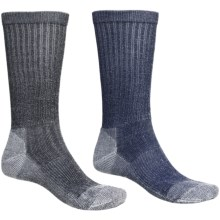 Wrangler Ultra-Dri Crew Socks - 2-Pack (For Men) in Navy Marl/Black Marl - Closeouts