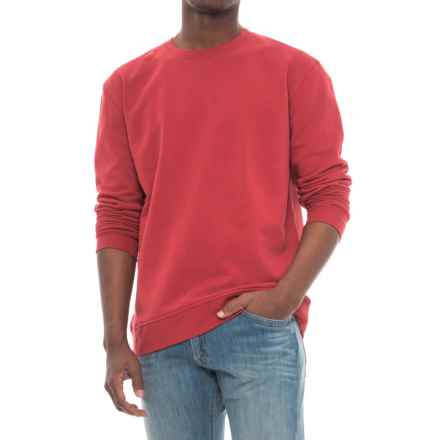 Wrangler Work Sweatshirt - Crew Neck (For Men) in Crimson - Closeouts