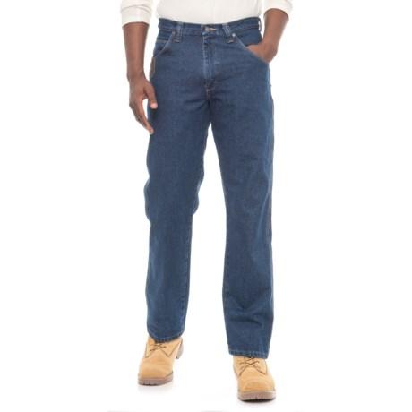 Wrangler Workwear® Five-Pocket Jeans (For Men) in Antique Indigo