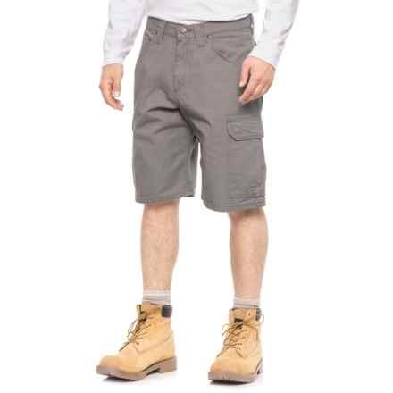 Wrangler Workwear® Ripstop Ranger Cargo Shorts (For Men) in Slate - 2nds