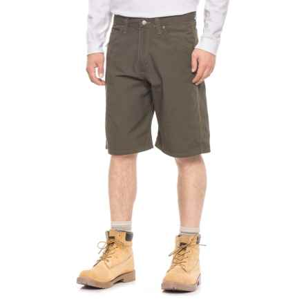 Wrangler Workwear® Technician Shorts - Factory Seconds (For Men) in Loden - 2nds