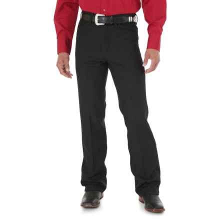 Wrangler Wrancher Dress Jeans (For Men) in Black - 2nds