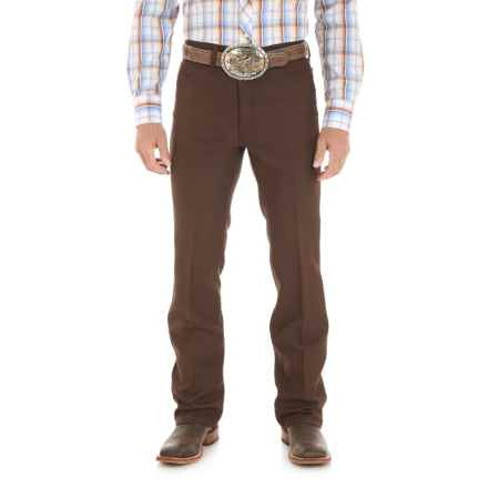 Wrangler Wrancher Dress Jeans (For Men) in Brown - 2nds