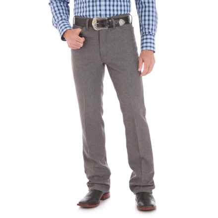 Wrangler Wrancher Dress Jeans (For Men) in Heather Grey - 2nds