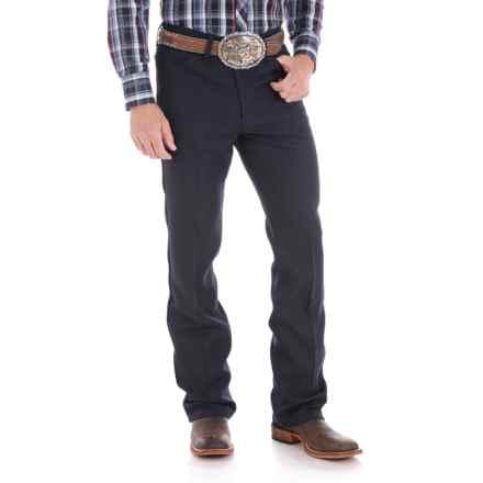 Wrangler Wrancher Dress Jeans (For Men) in Navy - 2nds