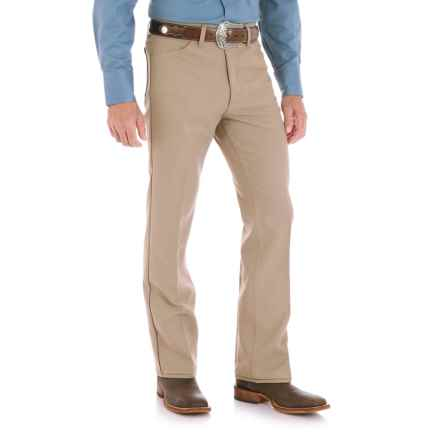 Wrangler Wrancher Dress Jeans (For Men) in Tan - 2nds