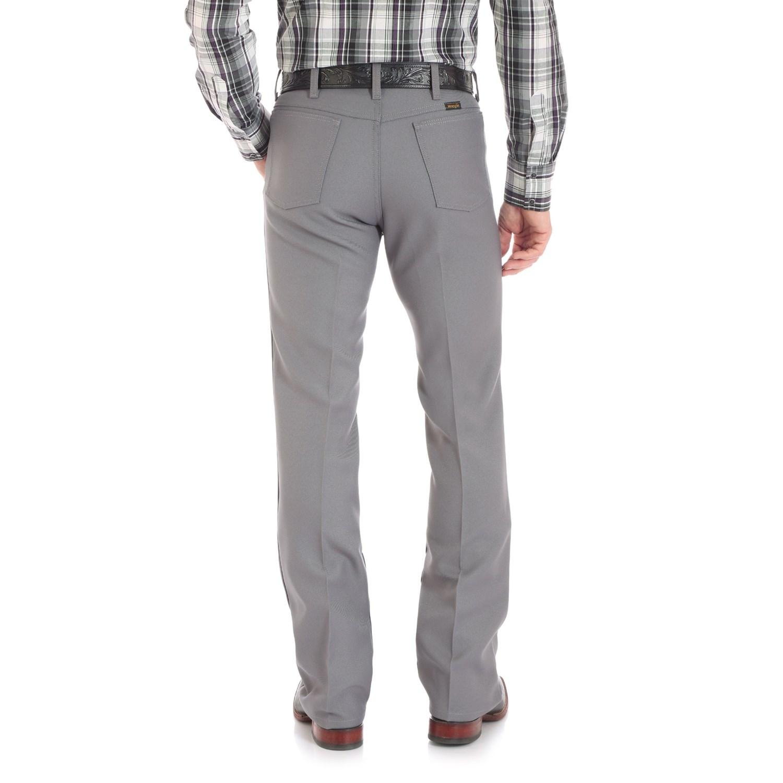 Black dress jeans - Wrangler Wrancher Dress Jeans For Men