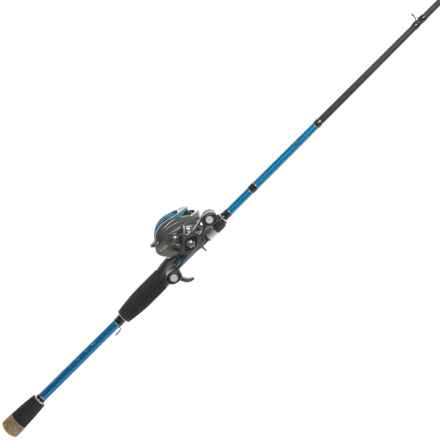 Wright & McGill Co. Brent Chapman Spinner Bait/Worm Casting Rod and Reel Combo - 1-Piece, 7' in See Photo - Closeouts