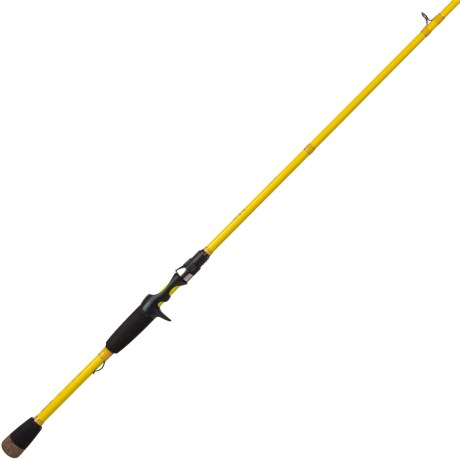 "Wright & McGill Co. Skeet Reese Micro Honeycomb Frog Casting Rod - 1-Piece, 7'2"" in See Photo"
