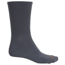 Wrightsock Cold Weather Running Socks - Crew (For Men and Women) in Grey - Closeouts
