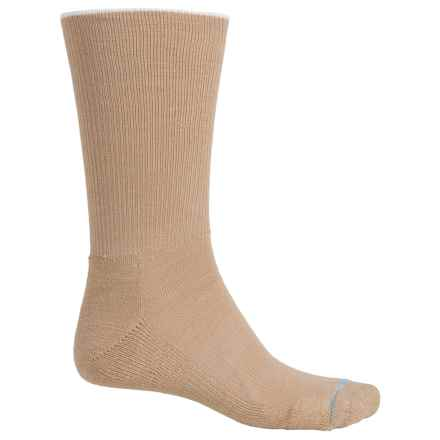 Wrightsock Comfort Socks - Crew (For Men and Women) in Khaki - Closeouts