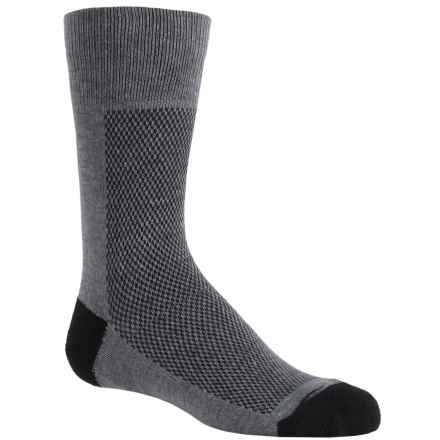 Wrightsock Coolmesh® Socks - Crew (For Little Kids) in Grey - Closeouts