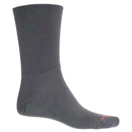 Wrightsock Double Layer Cold Running Socks - Crew (For Men and Women) in Grey - Closeouts