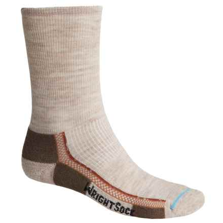 Wrightsock Slim Hiking Socks - Merino Wool, Crew (For Men and Women) in Tan - Closeouts