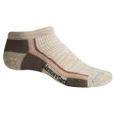 Wrightsock Slim Lo Hiking Socks - Merino Wool, Below the Ankle (For Men and Women) in Tan - Closeouts